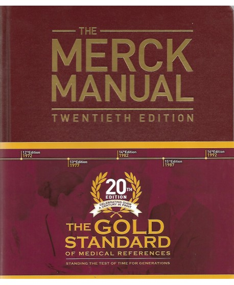 The Merck Manual of Diagnosis and Therapy 20th Edition