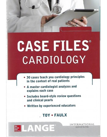 Case Files Cardiology 1st...