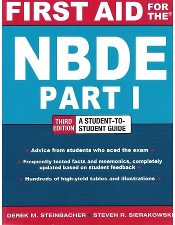 First Aid for the NBDE Part...