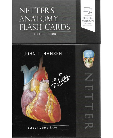 Netter's Anatomy Flash Cards 5th Edition