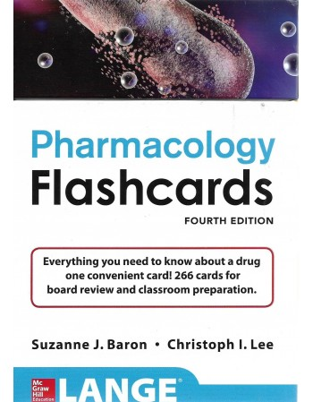 Pharmacology Flashcards 4th...