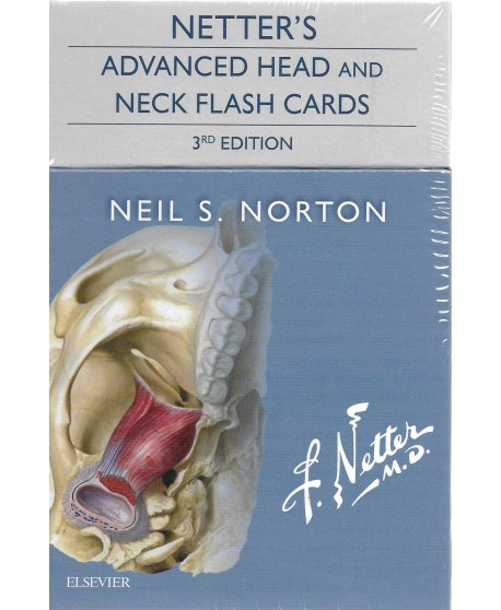 Netter's Advanced Head and Neck Flash Cards 3rd Edition