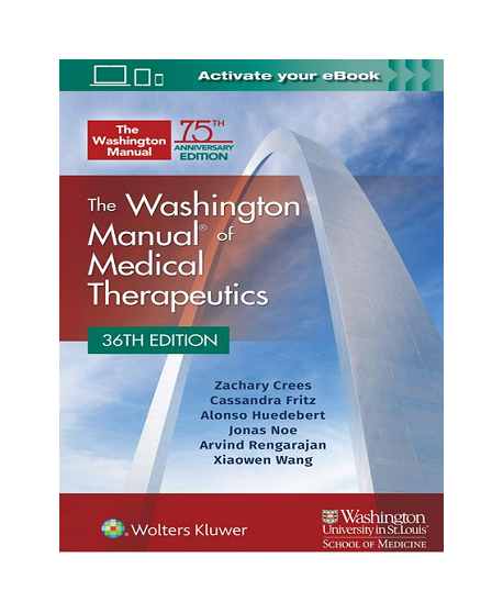 The Washington Manual Of Medical Therapeutics 36th Edition