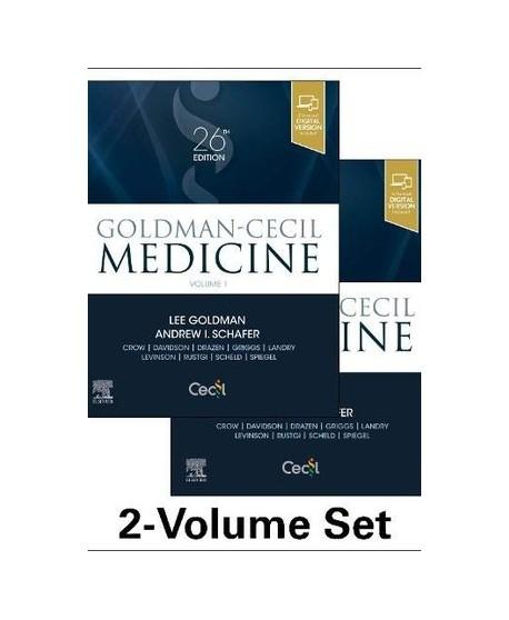 Goldman-Cecil Medicine 26th Ed. 2.Vols-Set