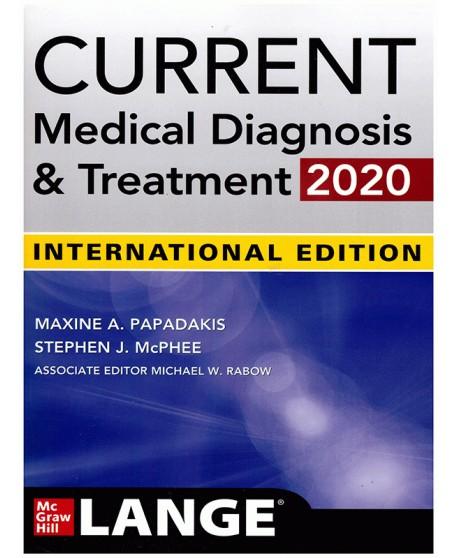 Current Medical Diagnosis & Treatment 2020 Int.Ed