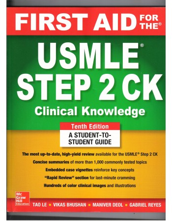 FIRST AID FOR THE USMLE...