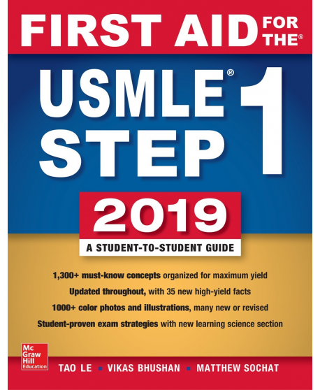 First Aid for the USMLE Step 1 2019 29th Edition