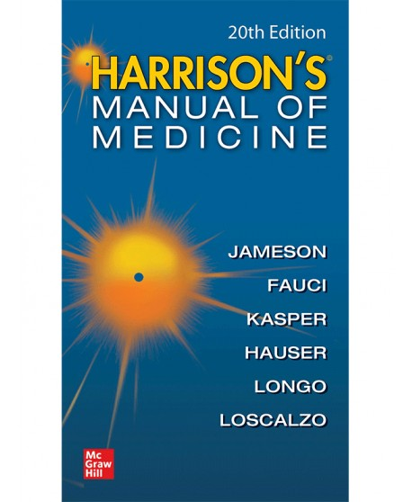 Harrisons Manual Of Medicine, 20th Edition, International Edition