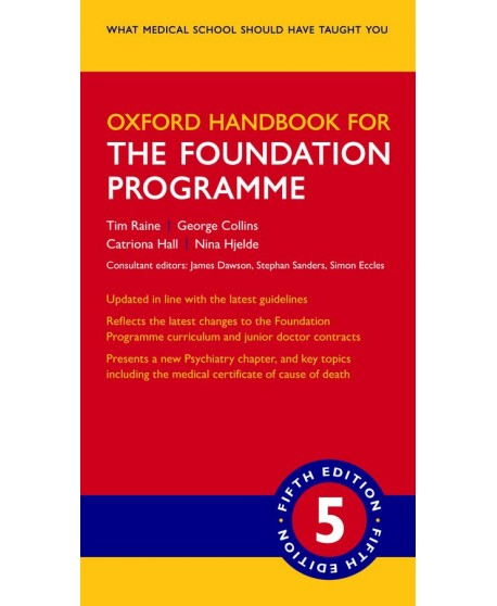 Oxford Handbook for the Foundation Programme 5th edition