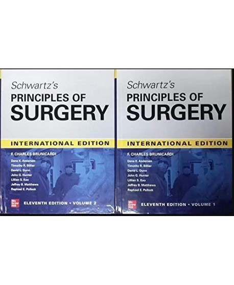 SCHWARTZ'S PRINCIPLES OF SURGERY 2-volume set 11th edition