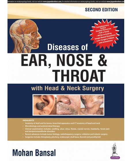 Diseases of Ear, Nose and Throat 2nd Edition