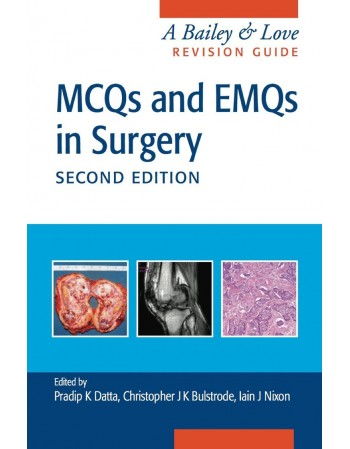 MCQs and EMQs in Surgery A...