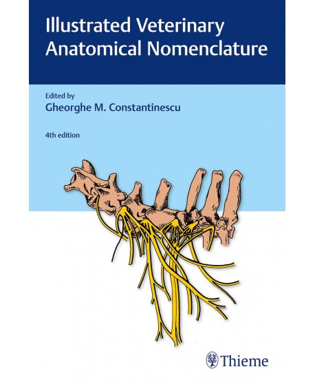 Illustrated Veterinary Anatomical Nomenclature 4th Edition