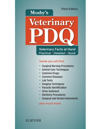 Mosby's Veterinary PDQ 3rd...