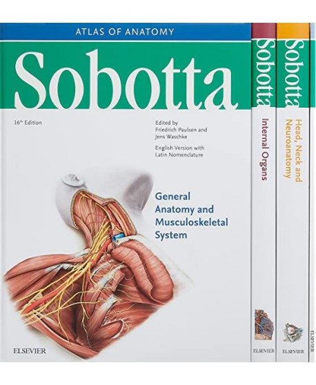 Sobotta Atlas of Anatomy, Package, 16th ed., English/Latin